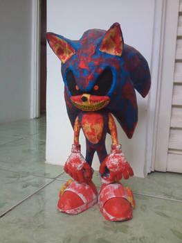 Sonic.EXE (Sculpture)