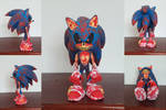 Sonic.EXE (Sculpture) by GCGblacknigth