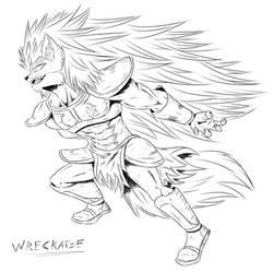 Wreckage Manga Sketch Style