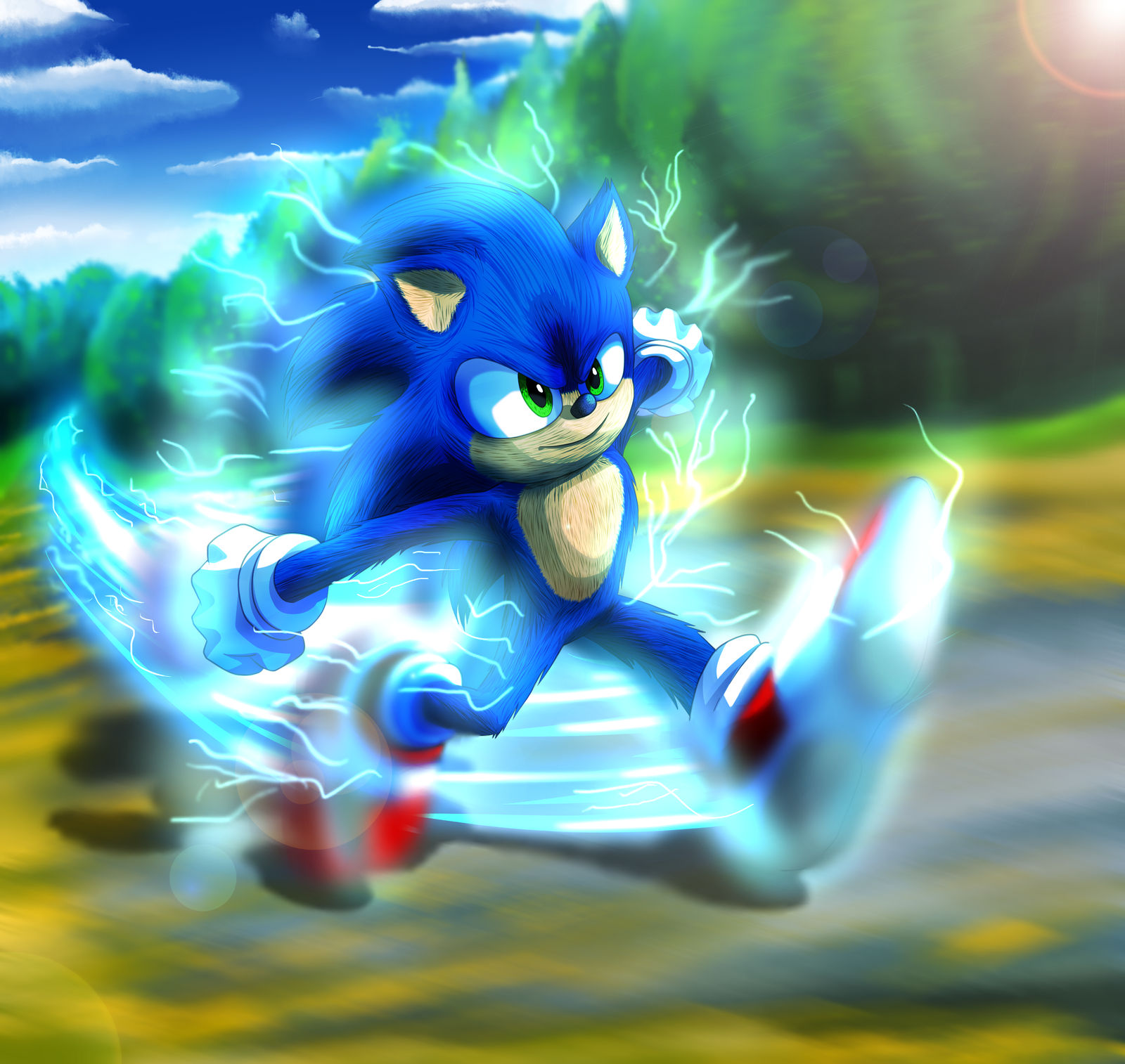 Sonic Movie 2020 By Gcgblacknigth On Deviantart