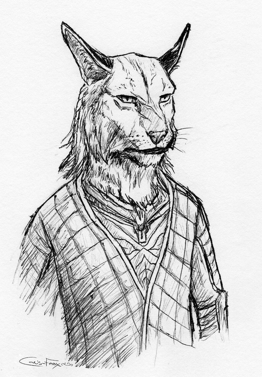 Wrijiir is not impressed by Canis-ferox
