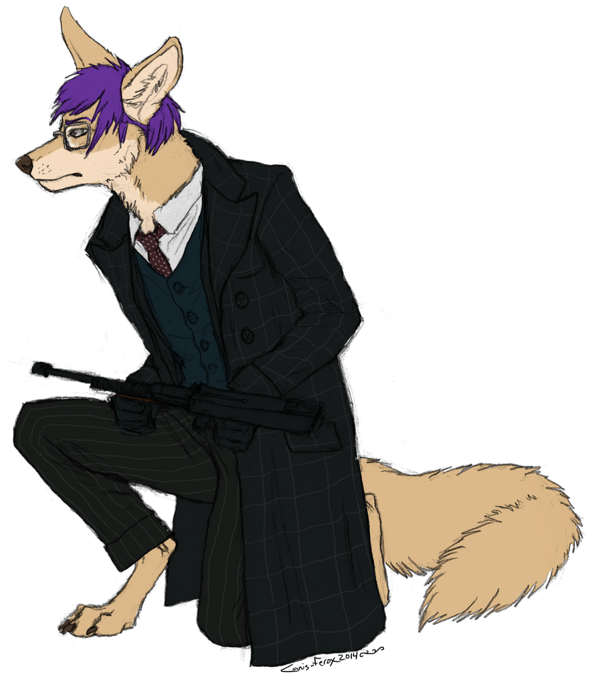 Kal_dingo commission by Canis-ferox