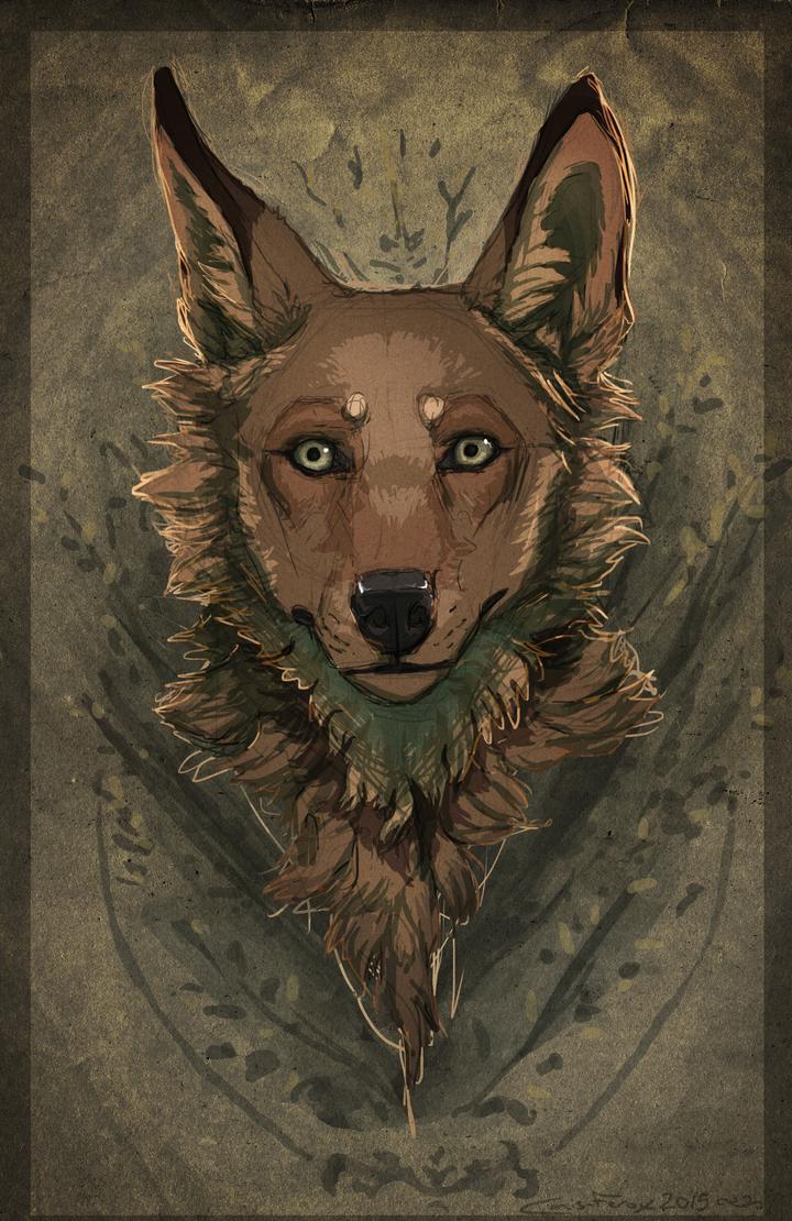- self portrait - by Canis-ferox