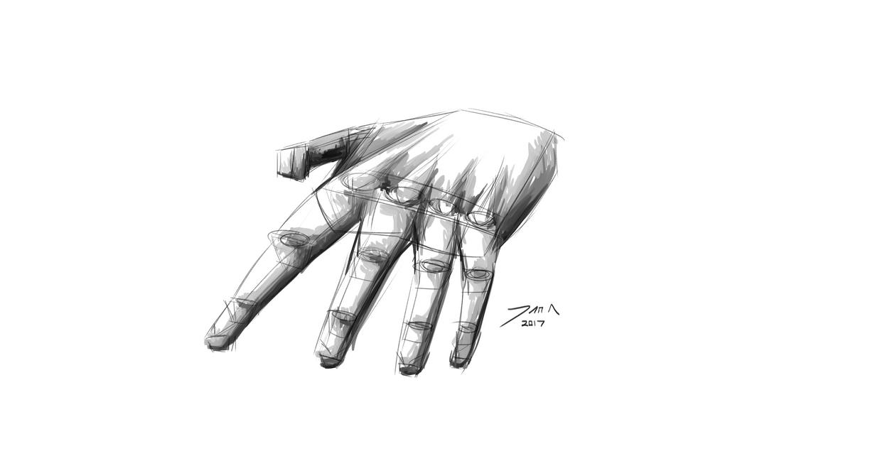 Day 266-Hand study by Dan21Almeida95