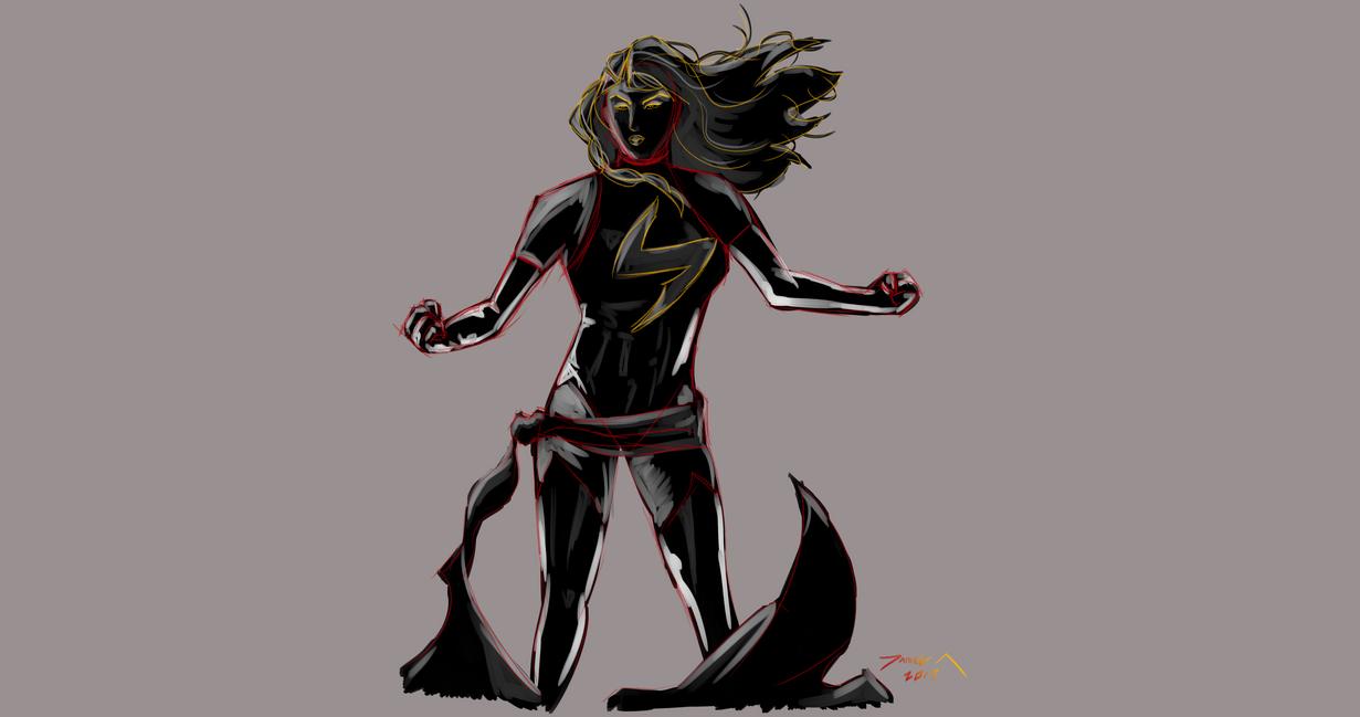 Day 281-Ms Marvel by Dan21Almeida95