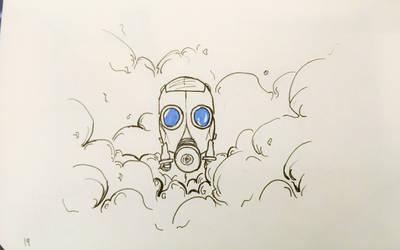 Inktober17 Day 19-Cloud by Dan21Almeida95