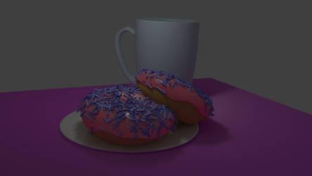 Blender Donut WIP 3