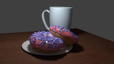Blender Donut WIP 4