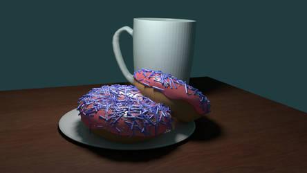 Blender Donut WIP 5
