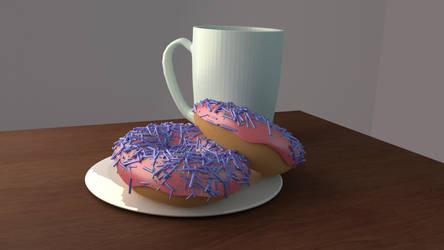 Blender Donut WIP 6