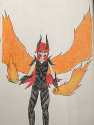 Hellfire Sinder (Redesign) by MrDevastation101