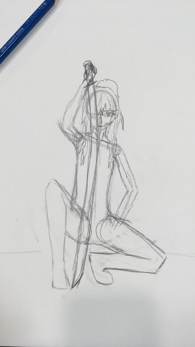 Kori WIP sketch by MrDevastation101