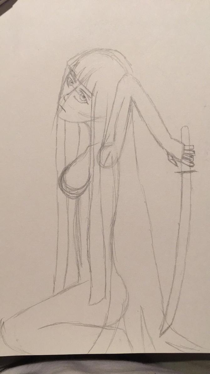 Stocking sketch (nsfw?) by MrDevastation101