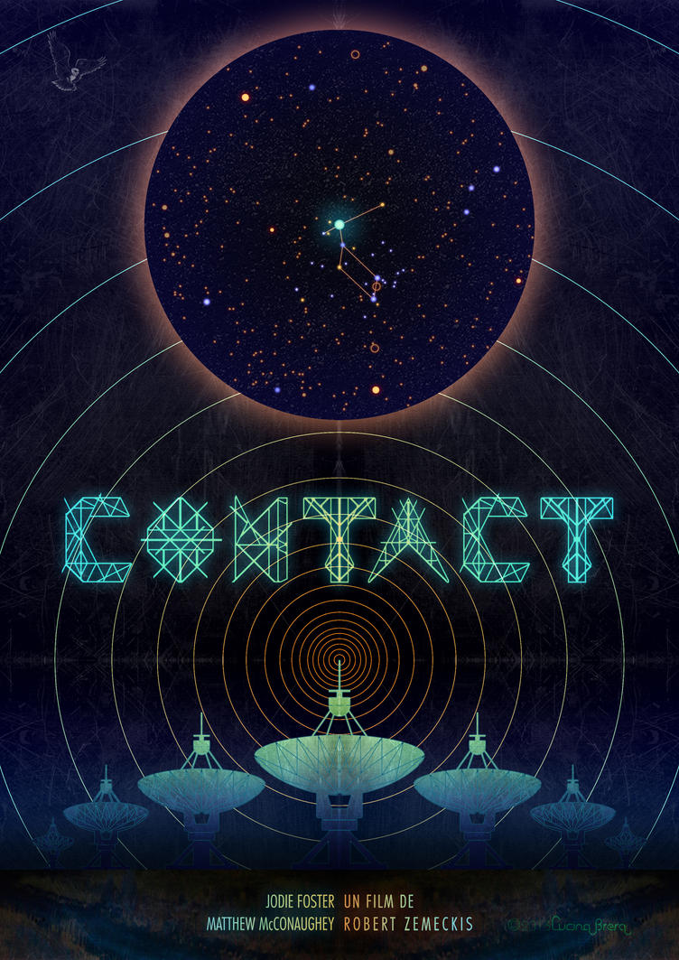 CONTACT Movie Poster by 3-Lucina-Brera-3
