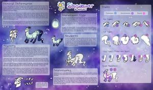 [OUTDATED] Starweaver - Closed Species Information by Sproutbird