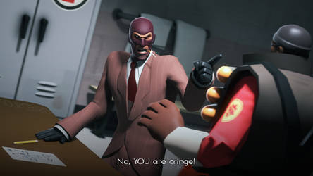 Spy, is that your fursona? That's cringe-