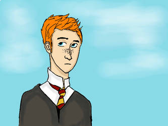 Ron Weasley by radvelii
