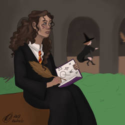 Hermione by radvelii