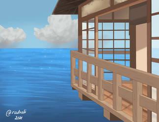 Ghibli background: Spirited away