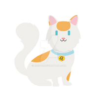 Sticker Cat by xozo65