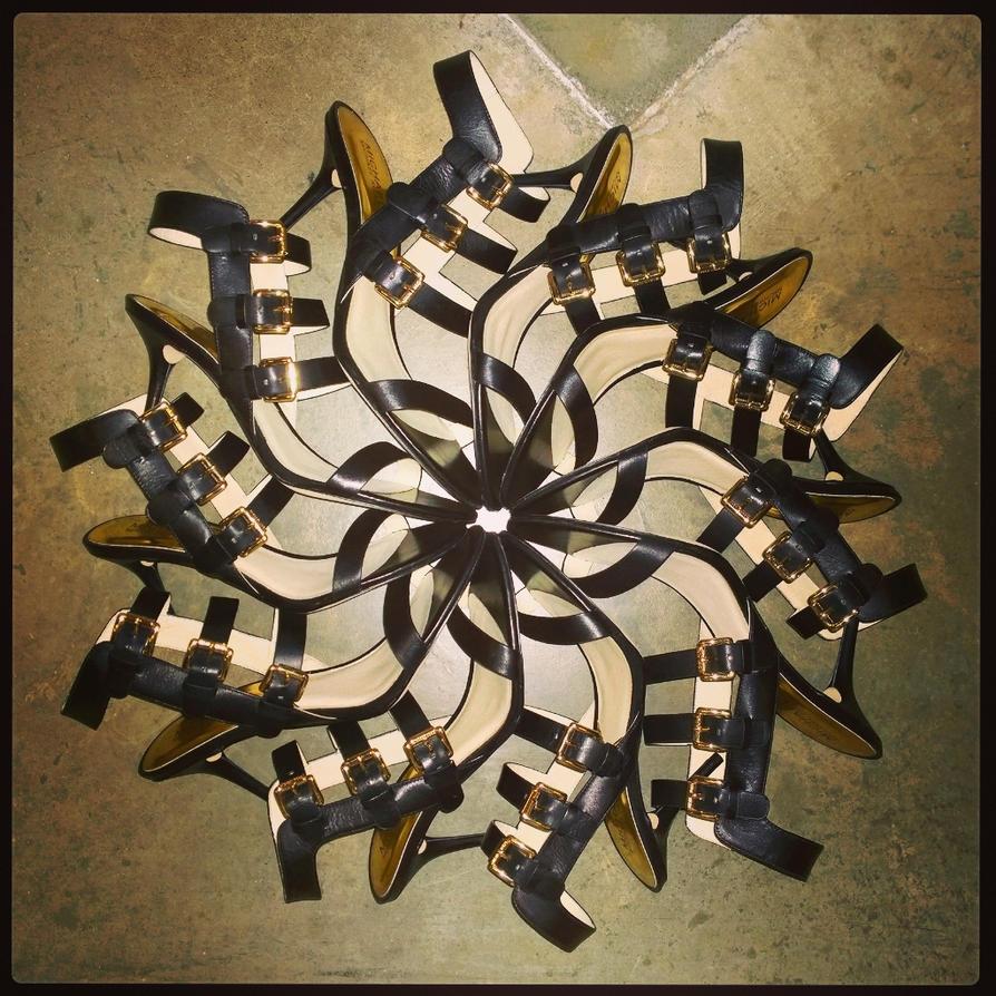 Shoe Mandala by msilvestre