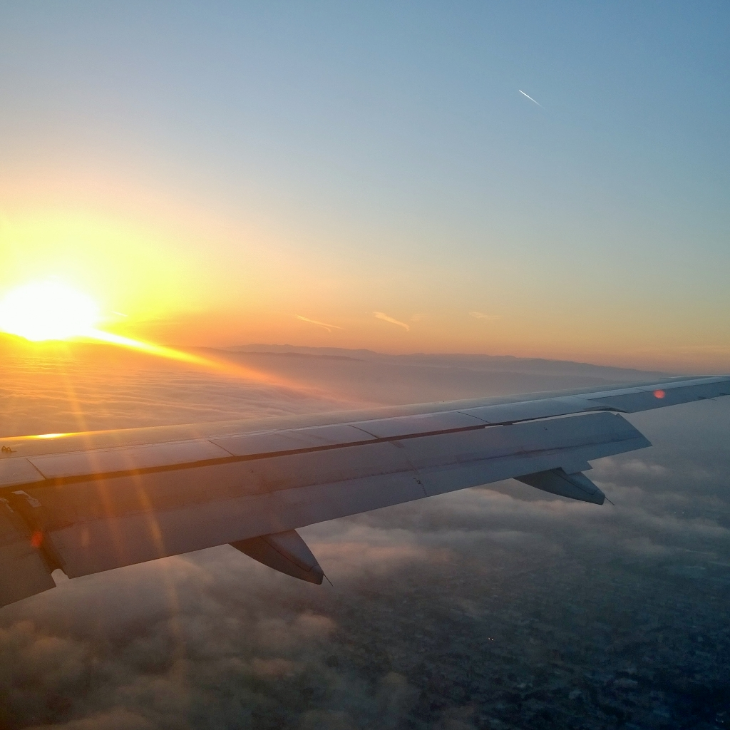 Flying to LAX by msilvestre
