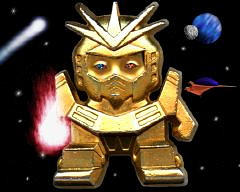 I am a Chibi Gundam by msilvestre