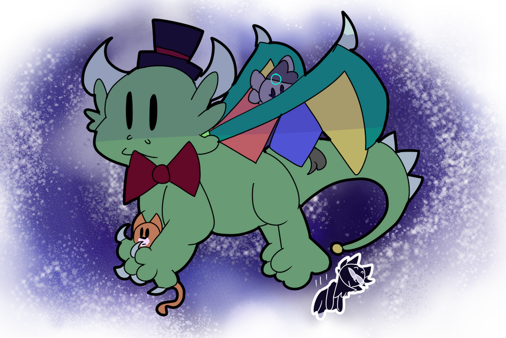 dragon boi by the-cow-goes-moon