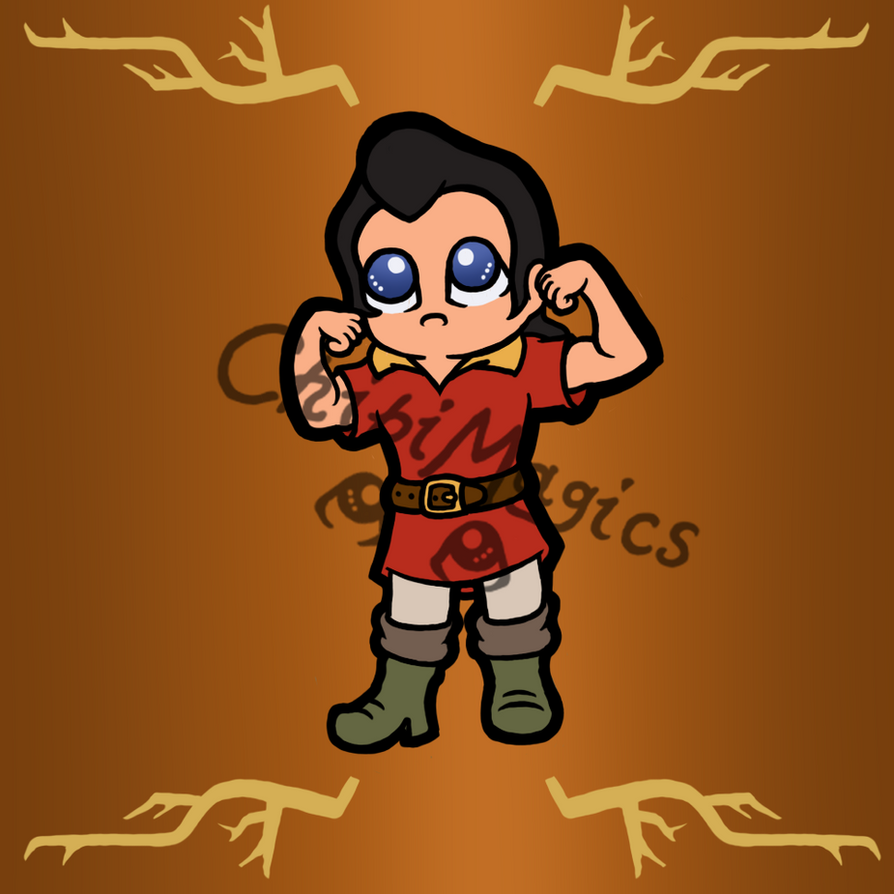 Disney villains gaston by chibimagics on deviantart disney villains gaston by chibimagics publicscrutiny Gallery