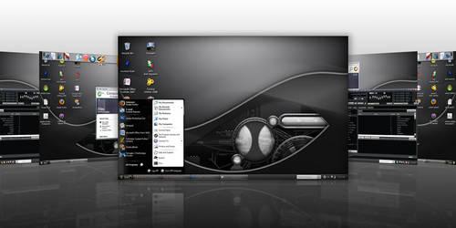 My 'Metal' Desktop by LongyZ