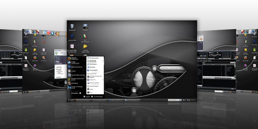 My 'Metal' Desktop