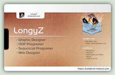 Deviant ID V2 by LongyZ