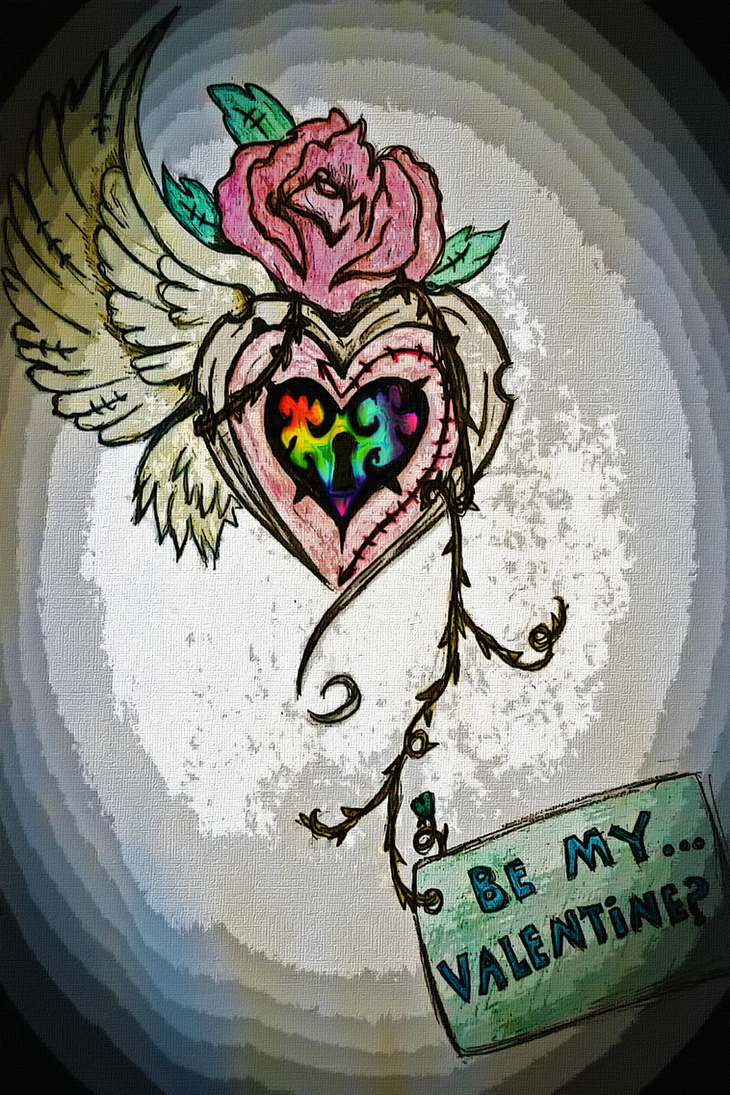 Even Rainbow Hearts Deserve Love by Theos-Kengen