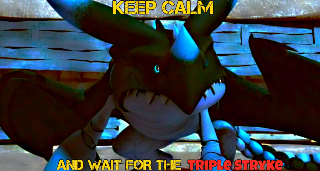Keep calm SoD gamers! by Deadlyfury20