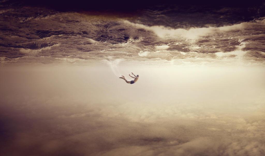 free falling by Randihildan