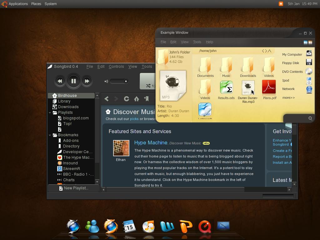 Ubuntu Mockup Hardy Heron by willwill100