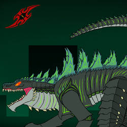 Monster March Day 9 Zilla By Reaper1954