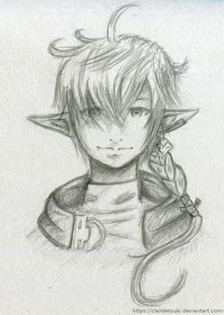 Alphinaud Leveilleur - Sketch