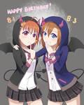 Chika/Honk HBD - Little Devils Friendship is Magic