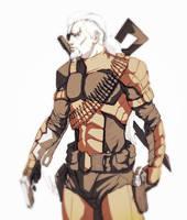 Deathstroke - Slade Wilson by Animixter