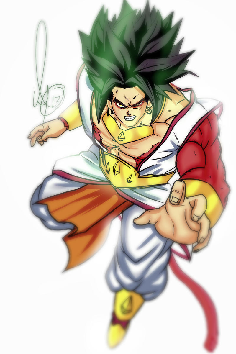 super saiyan 4 broly by animixter on deviantart