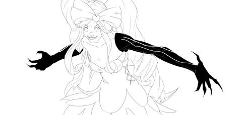 Nui from Kill La Kill for Free Sketch Tuesday by Animixter