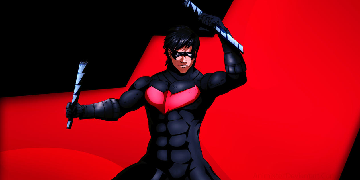 Night wing wallpaper impremedia nightwing wallpaper by animixter buycottarizona Choice Image