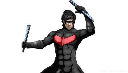 Nightwing Colors