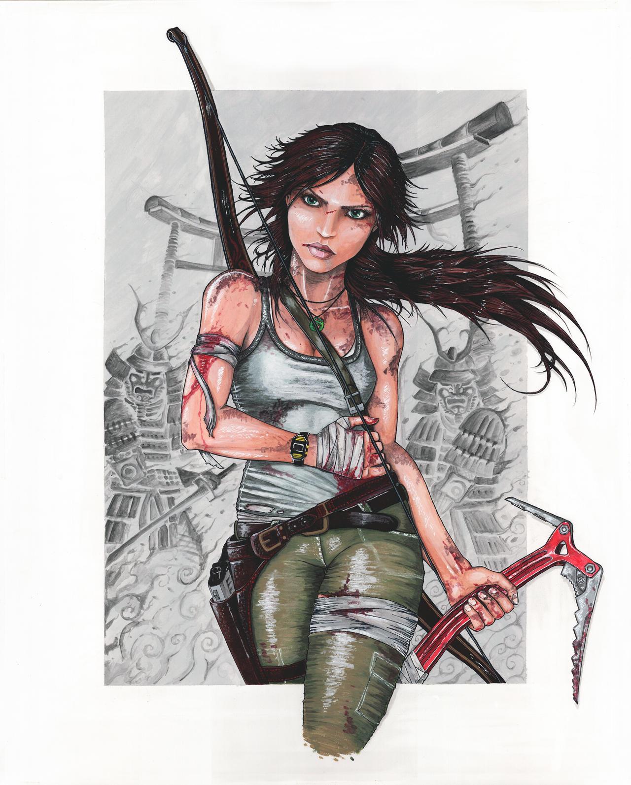 Tomb Raider 2013 Wallpaper: Lara Croft By DavorIvanec On DeviantArt