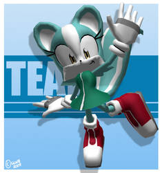 3D Teal : Posed