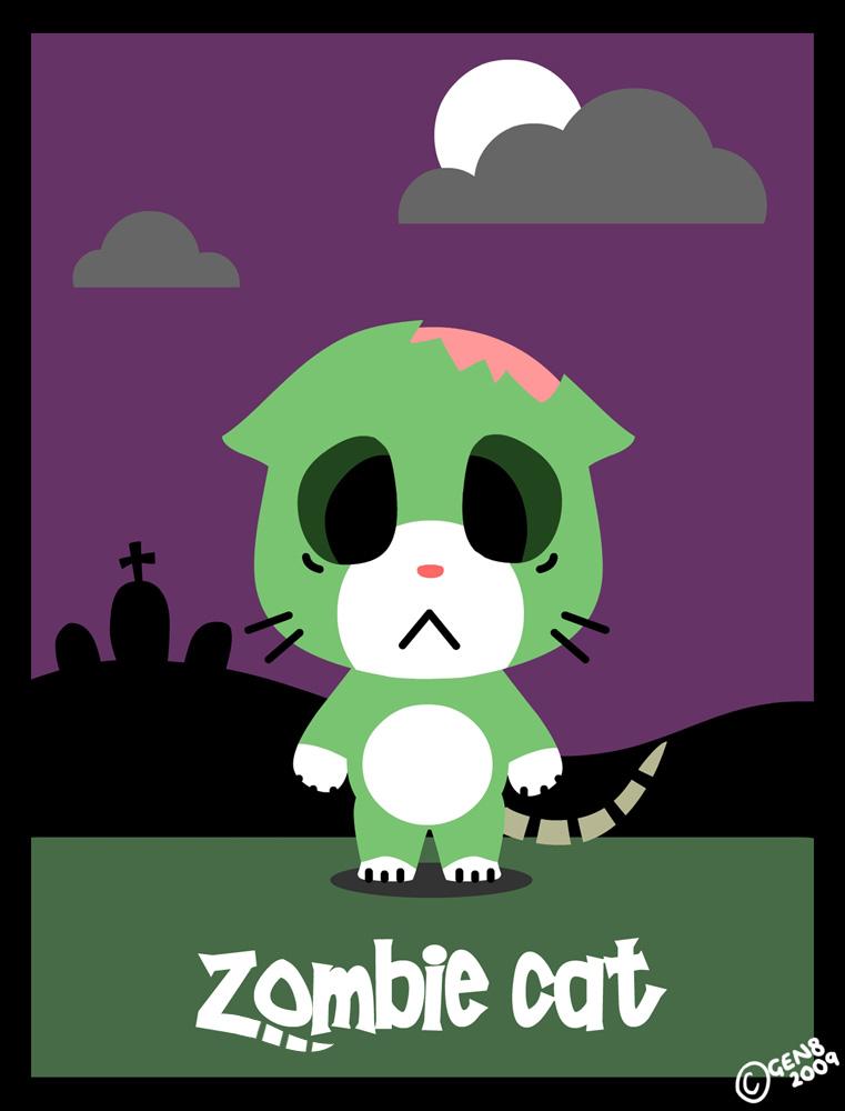 Zombie Cat Youtube