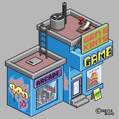 Pixelcade by gen8