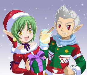 AVCon Christmas Flyer by gen8