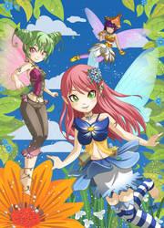 Fairies Splash by gen8